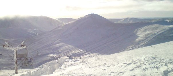 A beautiful day at Glenshee